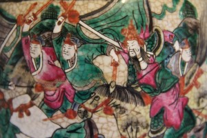 Detail of Oriental lamp