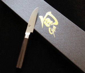 """Shun Japanese knife, 7 ½"""" total length Donated by Now You're Cooking, Bath"""